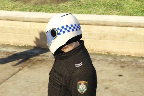 NSW Police Motorcycle Helmet