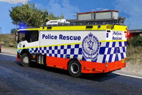 NSW Police Rescue truck