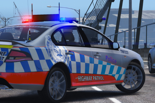 NSW Police Skin Pack for Ford Falcon FG