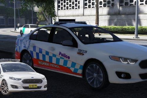 NSW Police Skin Pack for Ford Falcon FGX