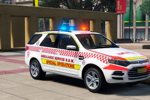 NSW Emergency Skin Pack for Ford Territory