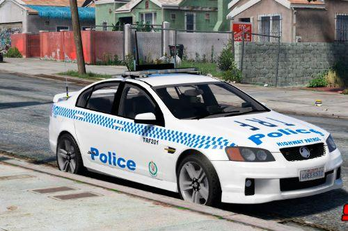 NSW Police Skin Pack for Holden Commodore VE