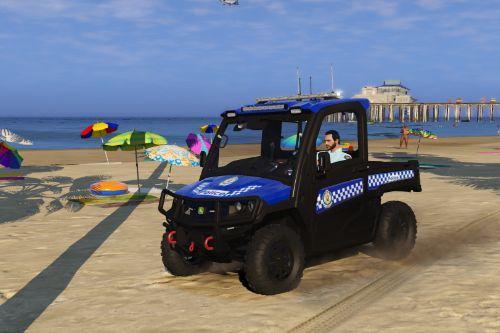 NSW Police UTV