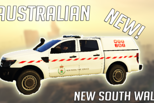 NSW Rural Fire Service Ford Ranger Ute Skin