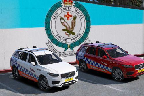 NSWPF Highway Patrol Volvo new south wales australia