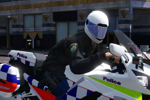 NSWPF Leather jacket motorcycle police [EUP]
