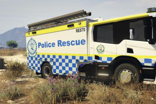 NSWPF - POLICE RESCUE SQUAD RES70