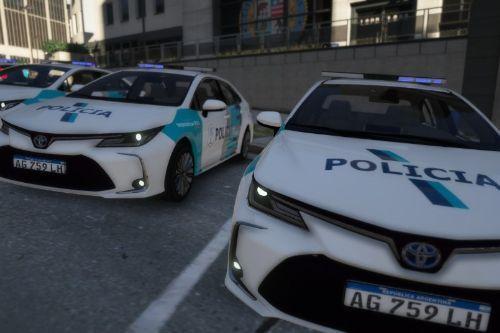 Toyota Corolla 2020 Argentina Police Paintjob