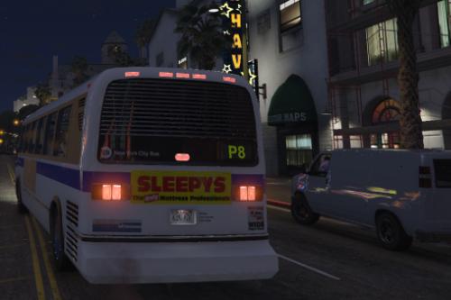 NYC MTA Bus skin