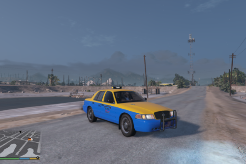 Crown Victoria 2011 Downtown Cab Co