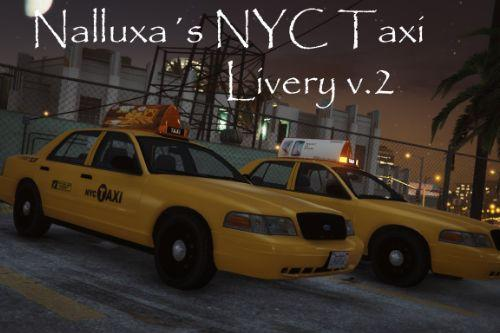 NYC Taxi livery for Crown Victoria