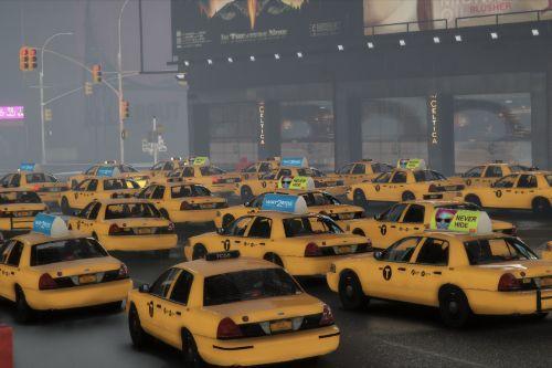NYC Taxi 2000 Crown Victoria