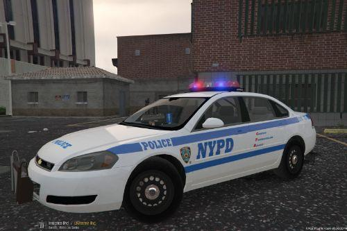 NYPD 107 Precinct Chevy Impala