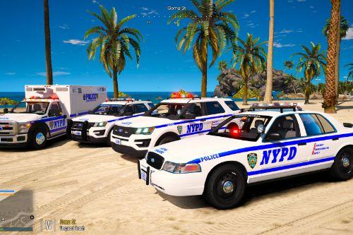 NYPD Vehicles Pack [Add-On / FiveM]