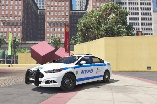NYPD Ford Fusion Hybrid Texture