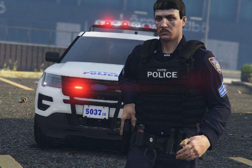 NYPD Realistic Vest Textures