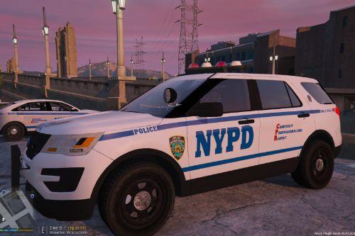 NYPD Strategic Response Group 4 FPIU