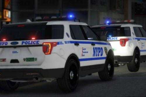 NYPD Strategic Response Group Disorder Control Unit