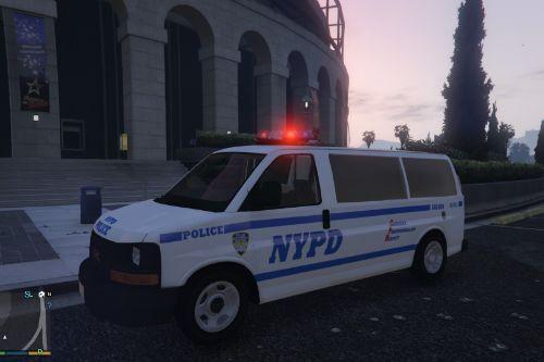NYPD Strategic Response Group/ DCU Van