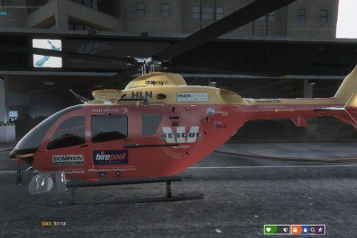 nz Westpac Rescue Helicopter skin
