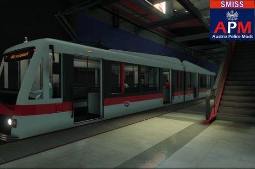 Österreich - Wien - U6 Floridsdorf (Metrotrain)