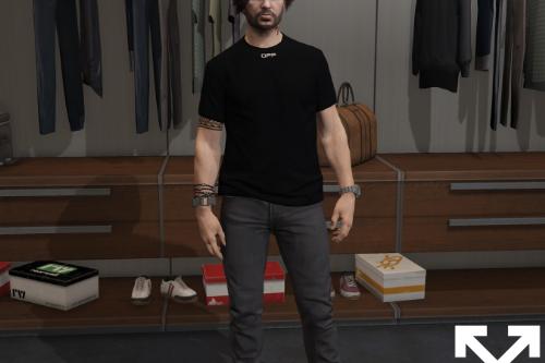OFF-WHITE™ Caravaggio Arrows T-Shirt for MP Male
