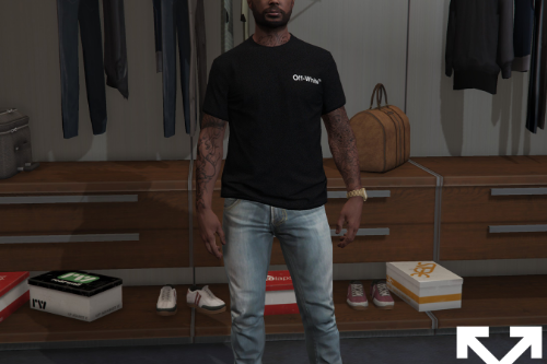 OFF-WHITE™ T-Shirt Pack Vol. 1 for MP Male