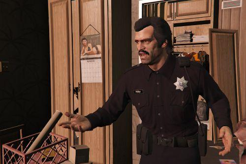 Officer's and Sheriff's Outfits for Trevor