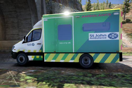 Official St Johns Ambulance Livery | 2015 London Ambulance [ELS]