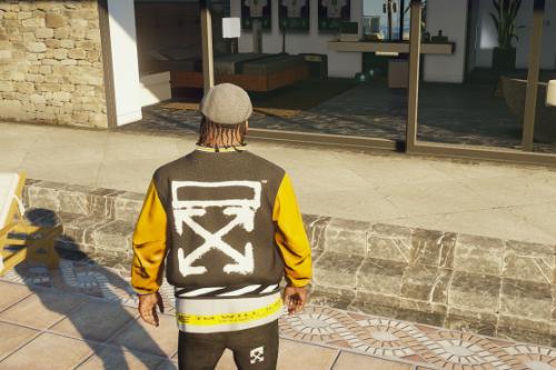 Offwhite & vlone SP Jacket (w/shirt)