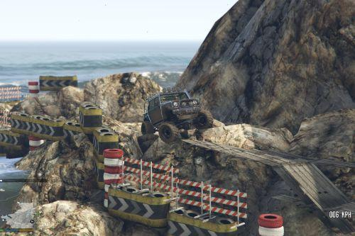 Offroad Race Track Trophy 4x4 on South-East Shore