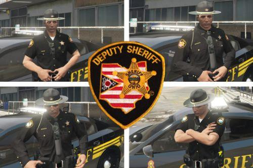 Ohio Sheriff Uniform (EUP & AI) Lore Friendly Included