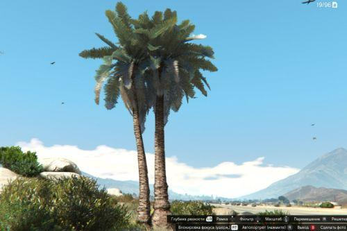 Old-Gen palm trees fix shaders