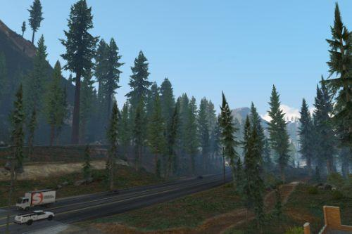 Old-gen vegetation mod
