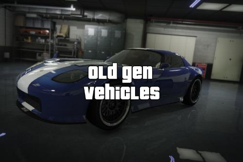 Old Gen Vehicles