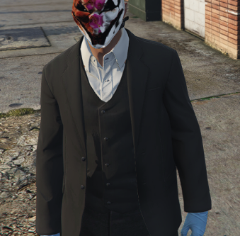 Old Hoxten Payday2 mask for MP Male [JOIN DISCORD]