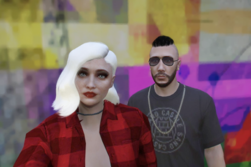 Old Vinewood - Custom haircut for MP Female [SINGLEPLAYER / FIVEM READY]
