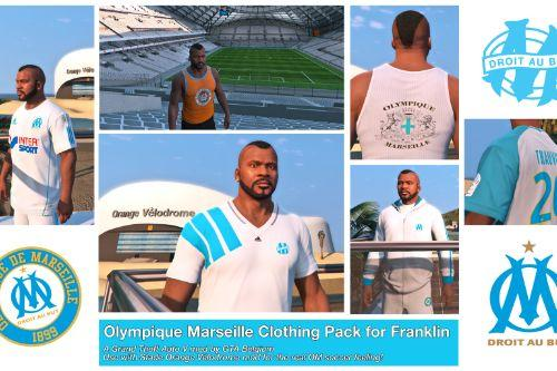 Olympique Marseille clothing pack (Franklin)