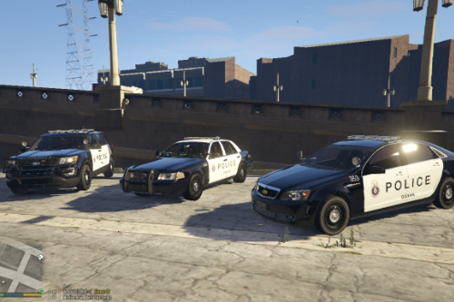 Omaha Police Department Skin Pack