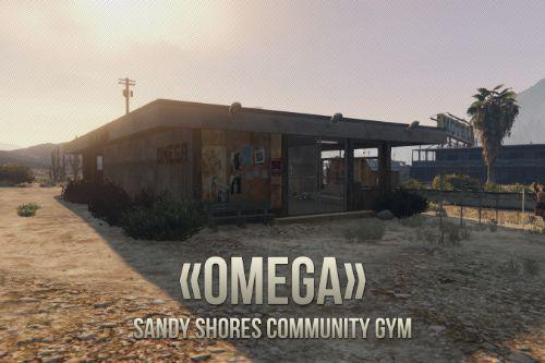 «OMEGA» Sandy Shores Community Gym [YMAP/Map Builder]