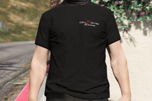 On D Gas shirt | FiveM Ready | MP Male