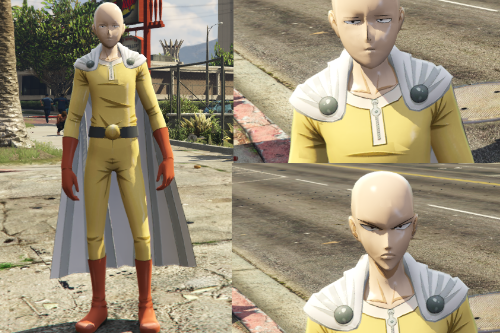 One Punch Man - Saitama (w/Interchangeable serious face)