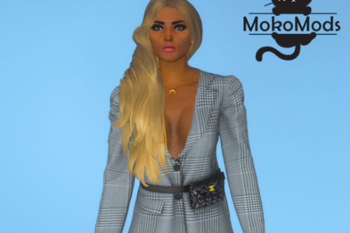 One Side Hairstyle for MP Female