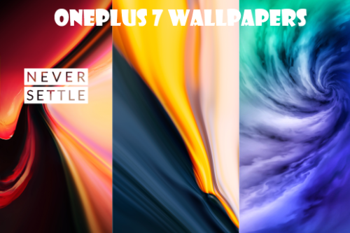 OnePlus 7 Wallpapers For Cellphone:5G/Never-Settle/Standard