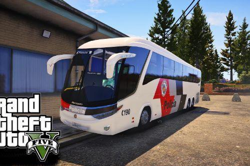 Ônibus Marcopolo Paradiso 1200 PMESP