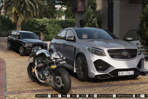 Mercedes-Benz GLE Coupe AMG - Onyx G6 [Add-On | Tuning]