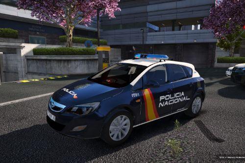 Opel Astra 2009 Policia Nacional/CNP of Spain/España[FiveM-Replace-ELS]