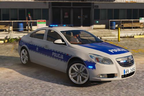 Opel insignia polish police [Els]