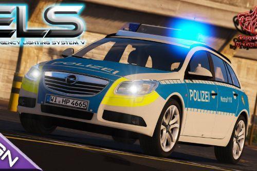 Opel Insignia Polizei Hessen [ELS]
