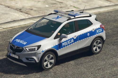 Opel Mokka X Polish Police
